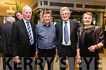 At the Fine Gael celebration in honour of Jimmy Deenihan in The Rose Hotel on Friday were Willie Cane, James O'Donoghue, Tom O'Sullivan and Grace O'Sullivan