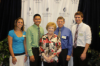 Admissions work study, call team, interns, and cultural ambassadors