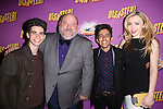 Cast of Disney's 'Jessie' Cameron Boyce, Kevin Chamberlin, Karan Brar and Peyton List attend the Broadway Opening Night Performance after party for 'Disaster!' at Hard Rock Cafe on March 8, 2016 in New York City.