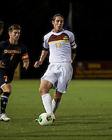 The Winthrop University Eagles lose 2-1 in a Big South contest against the Campbell University Camels.  Adam Brundle (12), Scooter Oliver (7)