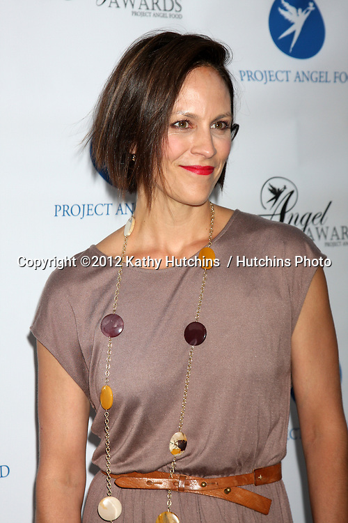 LOS ANGELES - AUG 18:  Annabeth Gish arrives at the 17th Annual Angel Awards at Project Angel Food on August 18, 2012 in Los Angeles, CA
