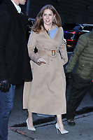 NEW YORK, NY - DECEMBER 19: Amy Adams seen arriving at Good Morning America in New York City on December 19, 2018. Credit: RW/MediaPunch
