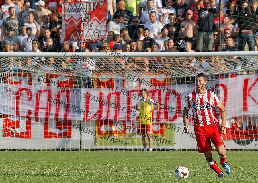 Fudbal Super liga season 2013-2014<br /> Javor v Crvena Zvezda <br /> Darko Lazic<br /> Ivanjica, 11.08.2013.<br /> foto: Srdjan Stevanovic/Starsportphoto &copy;