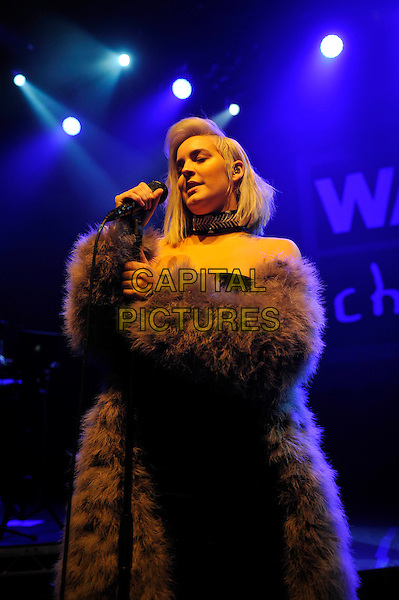 LONDON, ENGLAND - FEBRUARY 14: Anne-Marie(Anne-Marie Nicholson) performing for 'War Child' at Shepherd's Bush Empire on February 14, 2017 in London, England.<br /> CAP/MAR<br /> &copy;MAR/Capital Pictures