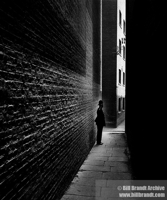 Bobby in a Bermondsey Alley, 1938