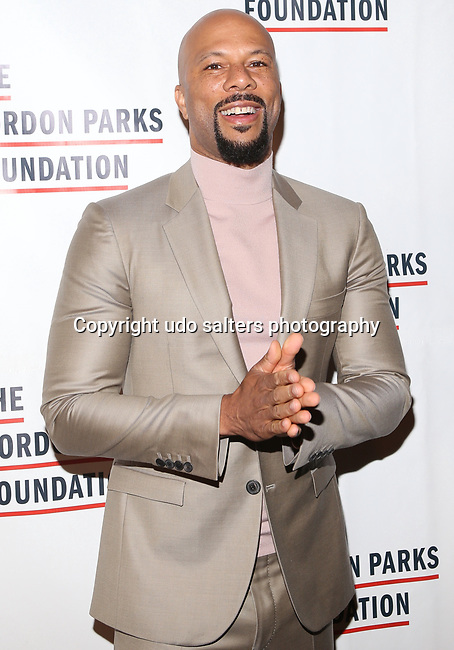 Hip Hop Arist, Actor, Author, Grammy, Golden Globe Award winner, Academy Award winner Lonnie Rashid Lynn, Jr. aka Common Attends THE GORDON PARKS FOUNDATION HONORS CONGRESSMAN JOHN LEWIS, MAVIS STAPLES,<br />