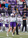 UAlbany Men's Lacrosse defeats Stony Brook on March 31 at Casey Stadium.  Sean Eccles (#38).