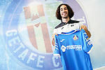 Getafe CF's new player Marc Cucurella during his official presentation. July 19, 2019. (ALTERPHOTOS/Acero)