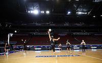 04.08.2015 Silver Ferns Phoenix Karaka during Silver Ferns training ahead of the 2015 Netball World Champs at All Phones Arena in Sydney, Australia. Mandatory Photo Credit ©Michael Bradley.