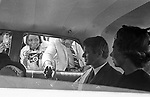 Robert and Ethel Kennedy at the funeral of Marthin Luther King Jr in Atlanta, Ga in April, 1968. (Photo by jim Peppler). Copyright Jim Peppler/1968.    This and over 10,000 other images are part of the Jim Peppler Collection at The Alabama Department of Archives and History:  http://digital.archives.alabama.gov/cdm4/peppler.php