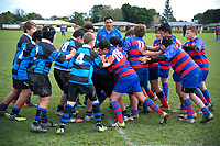 Action from the Horowhenua Kapiti under-13 club rugby match between Rahui and Levin Athletic at Otaki Domain in Otaki, New Zealand on Saturday, 30 June 2018. Photo: Dave Lintott / lintottphoto.co.nz