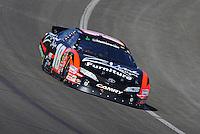 Oct. 10, 2009; Fontana, CA, USA; NASCAR Nationwide Series driver Denny Hamlin during the Copart 300 at Auto Club Speedway. Mandatory Credit: Mark J. Rebilas-