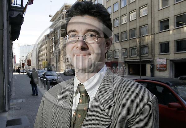 BRUSSELS - BELGIUM - 28 FEBRUARY 2005 -- Francesco MARCHI, Director of Economic Affairs at Euratex, the European Apparel and Textile Organisation. -- PHOTO: JUHA ROININEN / EUP-IMAGES.