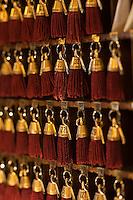 Europe/France/Nord-Pas-de-Calais/Pas-de-Calais/62/Le Touquet: Réception de l'Hôtel Westminster - le tableau  de clés // France, Pas de Calais, Le Touquet, the Hotel Westminster reception table of key