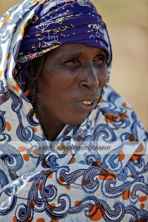 Fulani woman in the village of Jolooga in northern Burkina Faso.