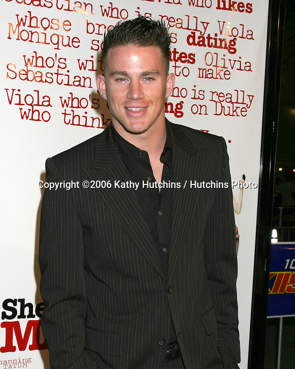 Channing Tatum.She's The Man Premiere.Mann's Village Theater.Westwood, CA.March 8, 2006.©2006 Kathy Hutchins / Hutchins Photo....