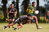 Cup Final Pukekohe vs Wesley College. Bombay Rugby Club Invitational 7's Tournament held at Bombay on Saturday October 31st 2009..Patumahoe won the Plate Final against Weymouth and Wesley College won the Cup Final against Pukekohe.