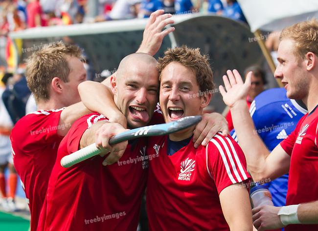 05/07/2015<br /> HWL Semi Final Antwerp Belgium 2015<br /> Great Britain v India  Men 3-4<br /> <br /> Photo: Grant Treeby