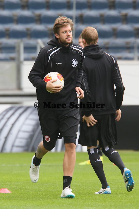 Marco Russ (Eintracht) - Eintracht Frankfurt Abschlusstraining