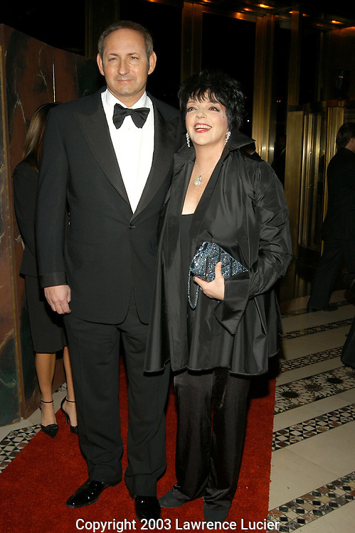 John Demsey and Liza Minelli