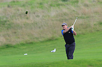 Paul Corcoran (Lisselan) on the 5th during the AIG Jimmy Bruen Shield Final between Lisselan &amp; Waterford in the AIG Cups &amp; Shields at Carton House on Saturday 20th September 2014.<br /> Picture:  Thos Caffrey / www.golffile.ie