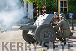 Scenes from the mock World War 2 battle in the Square as part of the Listowel Military Tattoo on Sunday afternoon last.