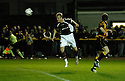 20/09/2006        Copyright Pic: James Stewart.File Name : sct_jspa02_alloa_v_hearts.juho makela scores hearts first......Payments to :.James Stewart Photo Agency 19 Carronlea Drive, Falkirk. FK2 8DN      Vat Reg No. 607 6932 25.Office     : +44 (0)1324 570906     .Mobile   : +44 (0)7721 416997.Fax         : +44 (0)1324 570906.E-mail  :  jim@jspa.co.uk.If you require further information then contact Jim Stewart on any of the numbers above.........