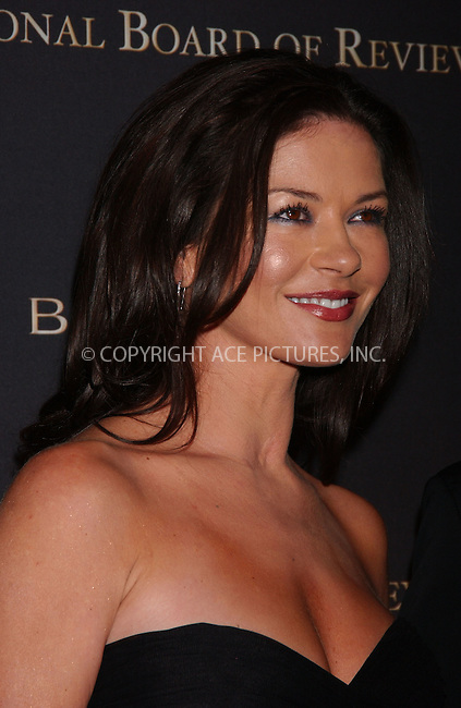 WWW.ACEPIXS.COM . . . . .....January 16, 2007. New York City....Actress Catherine Zeta-Jones arrives at the 2007 National Board of Review of Motion Pictures Awards Gala at Cipriani's 42nd St in New York City...  ....Please byline: Kristin Callahan - ACEPIXS.COM..... *** ***..Ace Pictures, Inc:  ..Philip Vaughan (646) 769 0430..e-mail: info@acepixs.com..web: http://www.acepixs.com