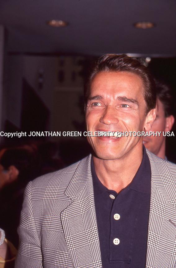 Arnold Schwarzenegger by Jonathan Green