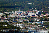 aerial photograph Iowa City, Iowa