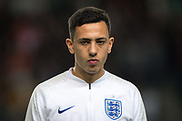 Dwight McNeil (Burnley) of England U21 during the UEFA Euro U21 International qualifier match between England U21 and Austria U21 at Stadium MK, Milton Keynes, England on 15 October 2019. Photo by Andy Rowland.