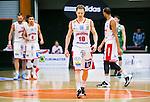 S&ouml;dert&auml;lje 2015-04-10 Basket SM-Semifinal 5 S&ouml;dert&auml;lje Kings - Sundsvall Dragons :  <br /> Sundsvall Dragons Jakob Sigurdarson deppar under matchen mellan S&ouml;dert&auml;lje Kings och Sundsvall Dragons <br /> (Foto: Kenta J&ouml;nsson) Nyckelord:  S&ouml;dert&auml;lje Kings SBBK T&auml;ljehallen Sundsvall Dragons depp besviken besvikelse sorg ledsen deppig nedst&auml;md uppgiven sad disappointment disappointed dejected