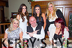 Pictured in Leen's Hotel, Abbeyfeale on Saturday night enjoying their Christmas party were the staff of The Good Hair Company, Abbeyfeale front row L-R Jennifer Daughton, Duagh, Billy Mann, owner of the Good Hair Company and Gillian Murphy, Abbeyfeale Back Row L-R: Elaine Stryker, Knocknagoshel, Michelle Sheeran and Martina Copse, Abbeyfeale.