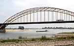 Waalbrug bridge crossing River Waal, Nijmegen, Gelderland, Netherlands