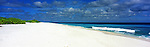 Kiribati Panorama - Beach on Kiritimati (Christmas Island), Kiribati<br />