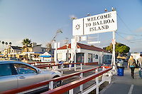 Balboa Island Ferry Transportation in Newport Beach California