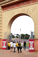 SAN FRANCISCO, CA - APRIL 17:  Kezar Stadium during the Spring Game on April 17, 2010 at Kezar Stadium in San Francisco, California.