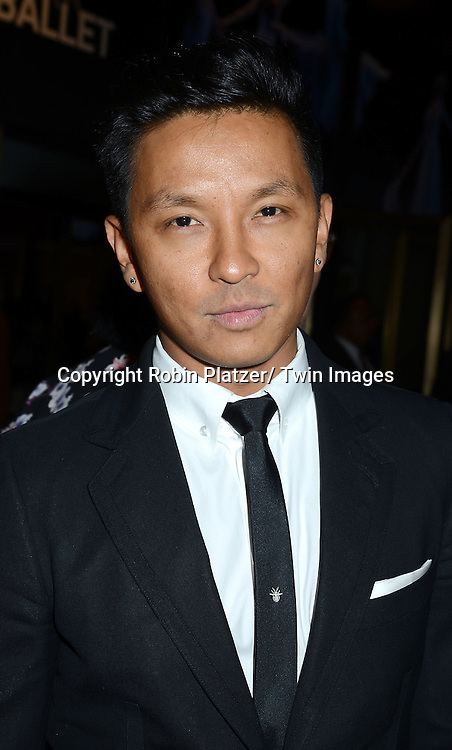 Prabal Gurung attends the New York City Ballet Spring 2014 Gala on May 8, 2014 at David Koch Theatre in Lincoln Center in New York City, NY, USA.