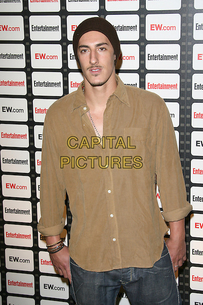 ERIC BALFOUR.Entertainment Weekly Magazine Celebrates the 2006 Photo Issue held at Quixote Studios, West Hollywood, California, USA..October 4th, 2006.Ref: ADM/ZL.half length brown beige shirt hat.www.capitalpictures.com.sales@capitalpictures.com.©Zach Lipp/AdMedia/Capital Pictures.