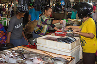 Bali, Indonesia.  Jimbaran Fish Market.