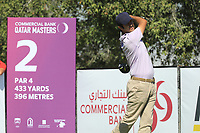 Jorge Campillo (ESP) in action during the second round of the Commercial Bank Qatar Masters, Doha Golf Club, Doha, Qatar. 08/03/2019<br /> Picture: Golffile | Phil Inglis<br /> <br /> <br /> All photo usage must carry mandatory copyright credit (&copy; Golffile | Phil Inglis)