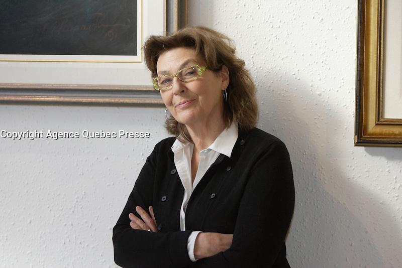 Paule Baillargeons in 2012