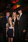 Frank Dicopoulos with his wife Teja and daughter Olivia (on GL too) and son Jaden - Guiding Light Actors dress up for the Captain's Dinner aboard Carnival's Glory - Day 2 - August 1, 2010 - So Long Springfield at Sea - (Photos by Sue Coflin/Max Photos)