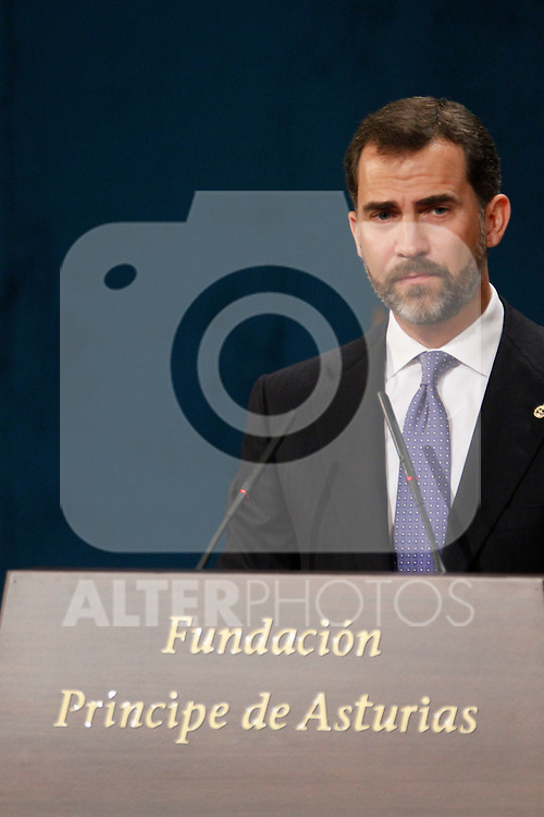 OVIEDO, Spain (22/10/2010).-  Prince of Asturias Awards 2010 Ceremony...Photo: POOL / Robert Smith  / ALFAQUI