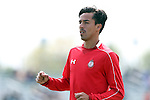 26 March 2016: Toluca's Lucas Lobos (MEX). The Carolina RailHawks of the North American Soccer League hosted Deportivo Toluca Futbol Club of LigaMX at WakeMed Stadium in Cary, North Carolina in an international friendly club soccer match. Toluca won the game 3-0.