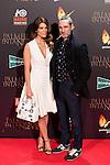 "Juana Acosta and Ernesto Alterio attends to the premiere of the spanish movie ""Palmeras en la Nieve"" at Kinepolis Cinemas in Madrid, December 09, 2015<br /> (ALTERPHOTOS/BorjaB.Hojas)"