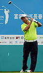TAIPEI, TAIWAN - NOVEMBER 19:  Chan Wang-ken of Taiwan tees off on the 10th hole during day two of the Fubon Senior Open at Miramar Golf & Country Club on November 19, 2011 in Taipei, Taiwan. Photo by Victor Fraile / The Power of Sport Images