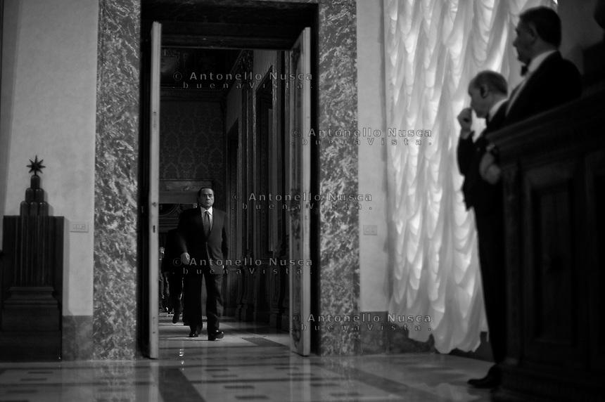 Silvio Berlusconi a Palazzo Chigi