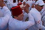 Samaria, the Samaritan Passover sacrifice on Mount Gerizim