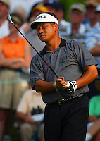 K.J. Choi in action at the Bay Hill Invitational at Arnold Palmer's Bay Hill Club & Lodge in Orlando, FL in March 2003. (Photo by Brian Cleary / www.bcpix.com)
